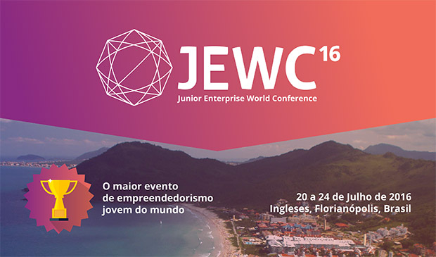 Junior Enterprise World Conference – JEWC 2016, em Florianópolis